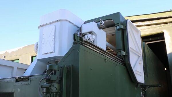 Развертывание и подготовка к применению боевого лазерного комплекса Пересвет. 5 декабря 2018