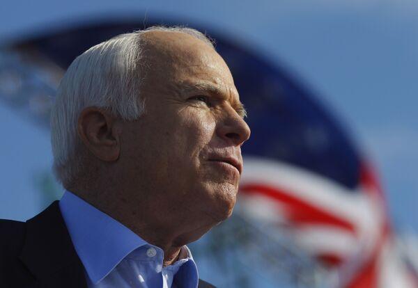 Кандидат в президенты США Джон Маккейн