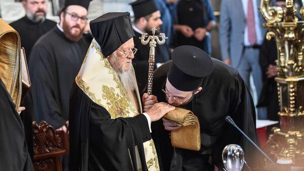 Патриарх Константинопольский Варфоломей