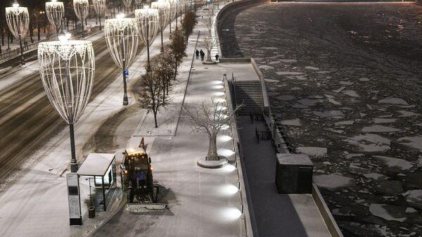 Снег в Москве 6 декабря
