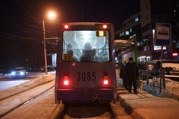 Трамвай № 13 в Новосибирск