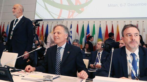 Министр иностранных дел и международного сотрудничества Италии Энцо Моаверо-Миланези