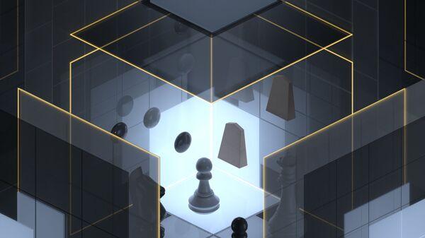 Так художник представил себе процесс мышления AlphaZero