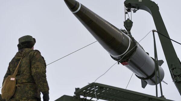 Баллистическая ракета комплекса Искандер-М