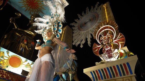 Праздничное шествие на Кубе