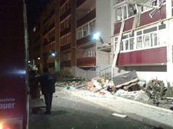 Взрыв бытового газа в жилом доме в Батайске