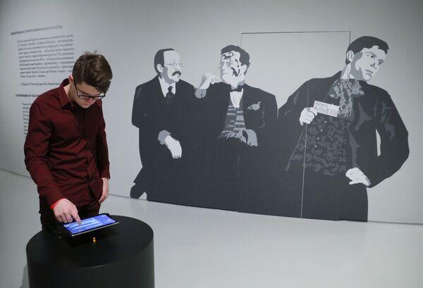 Посетитель в Музее русского импрессионизма