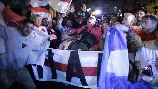 Фанаты Ривер Плейт бурно отпраздновали победу команды