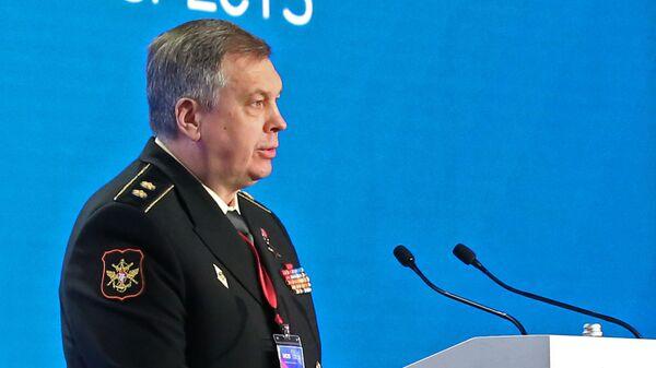 Первый заместитель начальника Главного управления Генерального штаба ВС РФ, вице-адмирал Игорь Костюков