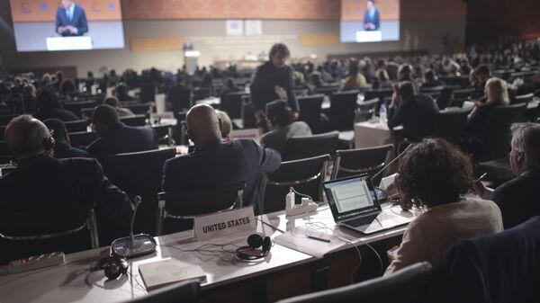 Миграционная конференция ООН в Марракеше, Марокко. 10 декабря 2018