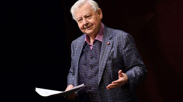Художественный руководитель МХТ имени А.П.Чехова Олег Табаков на церемонии вручения Премии Олега Табакова