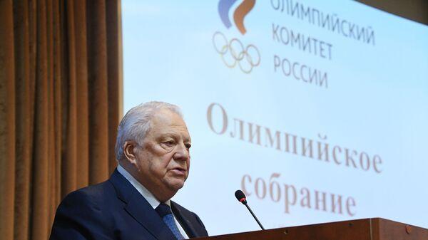 Почетный президент Олимпийского комитета России (ОКР) Виталий Смирнов