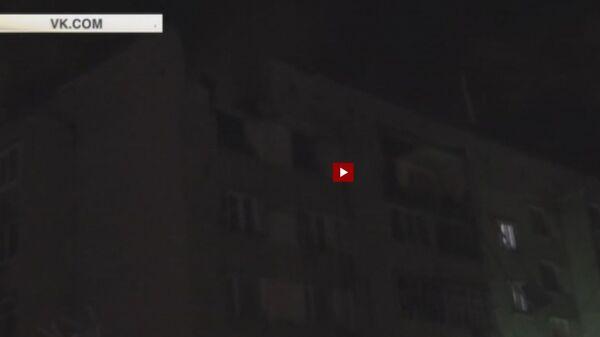 Видео с места взрыва газа в Вологде