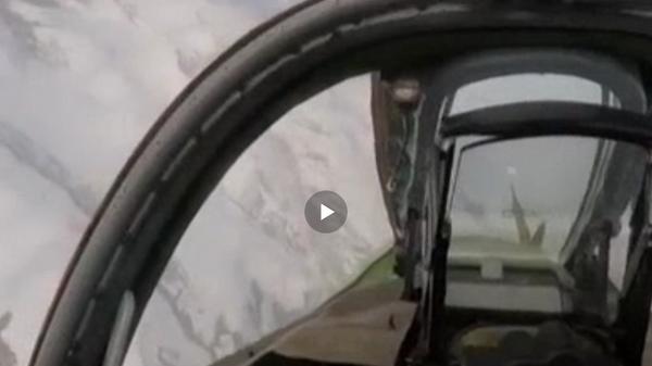 Опубликованы кадры ракетного удара штурмовиков Су-25