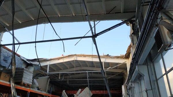 Обрушение кровли в производственном здании в подмосковном Дзержинском. 17 декабря 2018