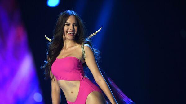 Победительница международного конкурса красоты Мисс Вселенная Катриона Грэй. 17 декабря 2018