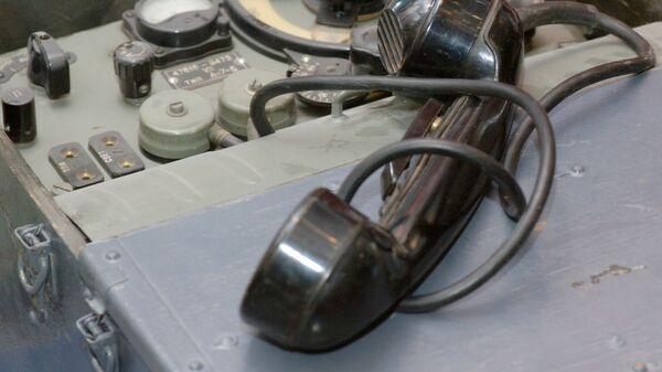 Радиостанция Белка М-2 - один из экспонатов выставки 90 лет военной контрразведке