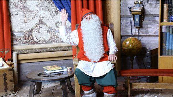 Санта-Клаус из Лапландии