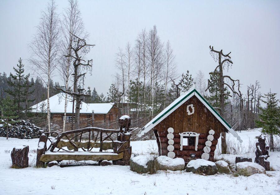 Резиденция Карельского Деда Мороза Талви Укко в поселке Чална