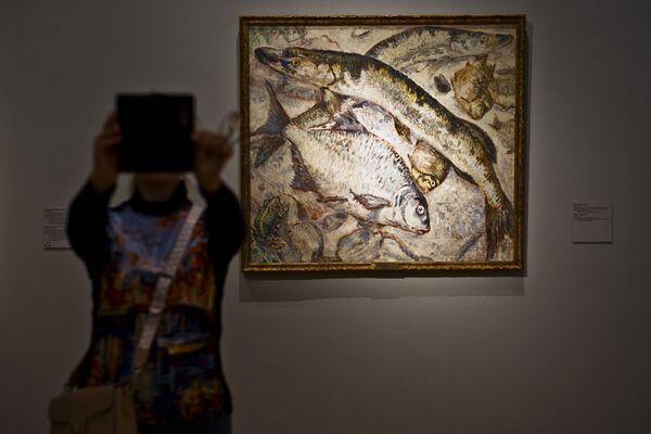 Выставка Михаил Ларионов в Третьяковской галерее