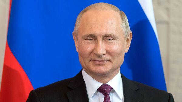 Путин поприветствовал участников фестиваля Российского движения школьников