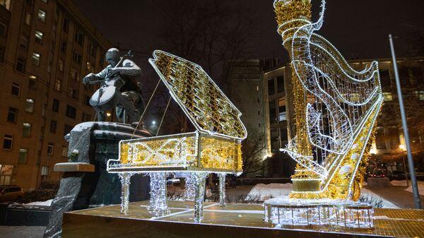Новогодние инсталляции в Москве