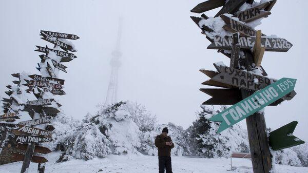 Зима в Пятигорске