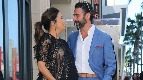 Ева Лонгория и Хосе Бастон