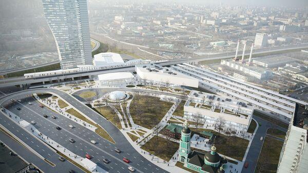 Архитектурный проект ТПУ Рязанская