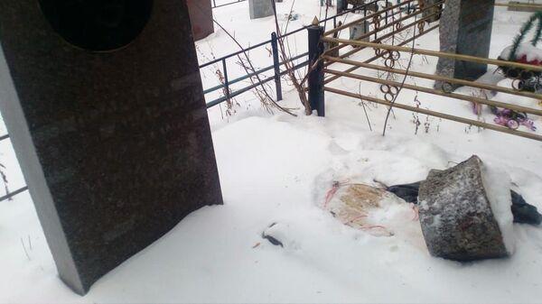На могиле бывшего главного архитектора Стерлитамака остался только пенек