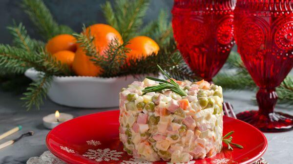 Блюда новогоднего стола