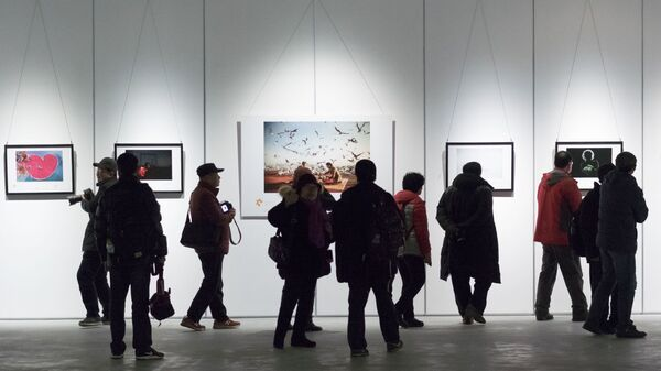 Выставка победителей конкурса им. Андрея Стенина в Вэйхае