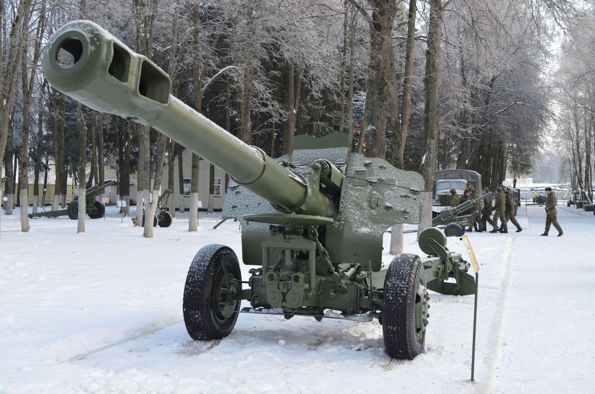 152-миллиметровая гаубица Д-20 - РИА Новости, 1920, 25.12.2020