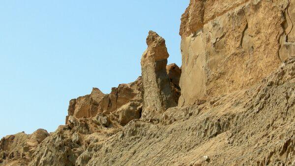 Жена Лота на горе Содом, Израиль