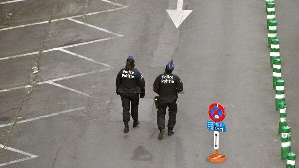 Полицейские в Брюсселе