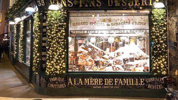 Кондитерская A la Mere de Famille в Париже