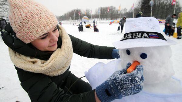 Фестиваль Арт-битва снеговиков