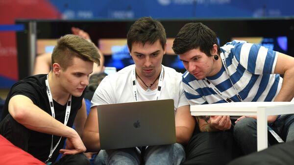 Участники конференции мобильных разработчиков