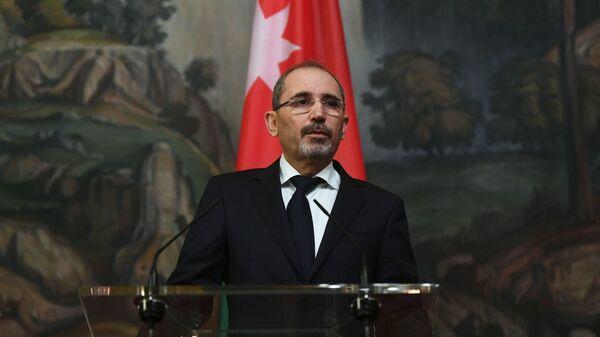 Министр иностранных дел и по делам эмигрантов Иордании Айман Хусейн Абдалла ас-Сафади. Архивное фото