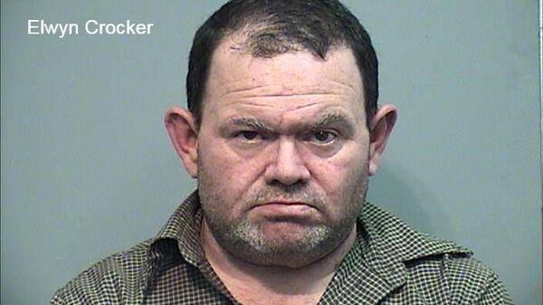 Элвин Крокер, отец двоих детей, тела которых были обнаружены зарытыми в саду