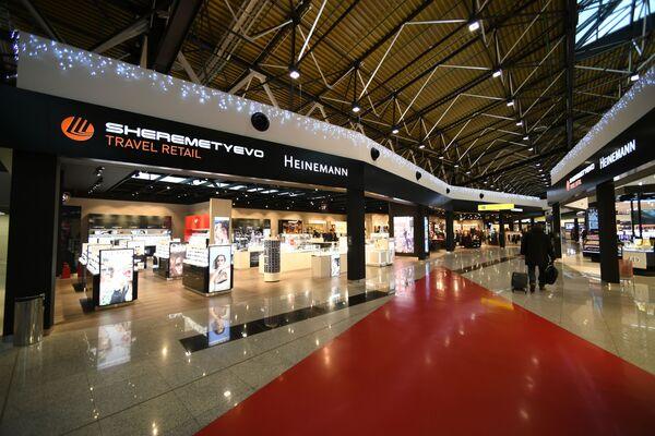 Торговая галерея Travel Retail терминала В аэропорта Шереметьево