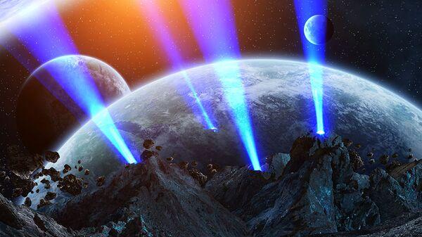 Гипотетическая развитая цивилизация в системе звезды Табби