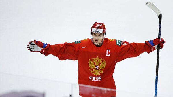Хоккей. Молодежный чемпионат мира. Матч Россия - Дания