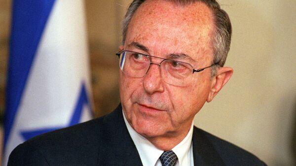 Бывший министр обороны Израиля Моше Аренс