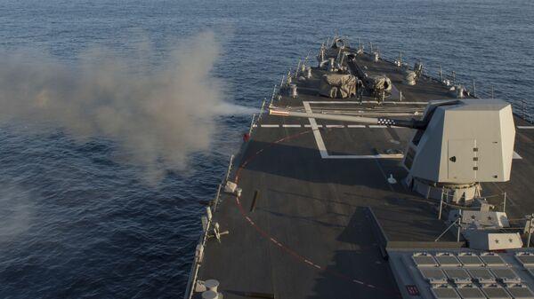 Американский эскадренный миноносец USS Dewey