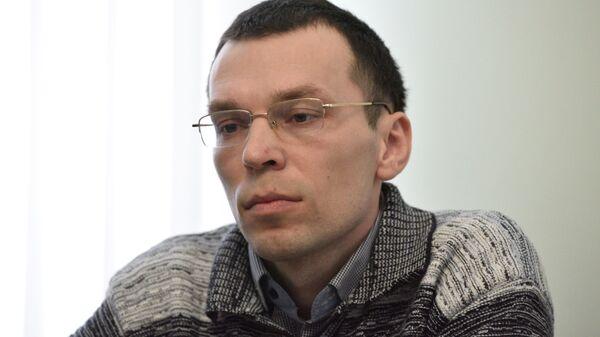 Украинский журналист Василий Муравицкий, обвиняемый в государственной измене