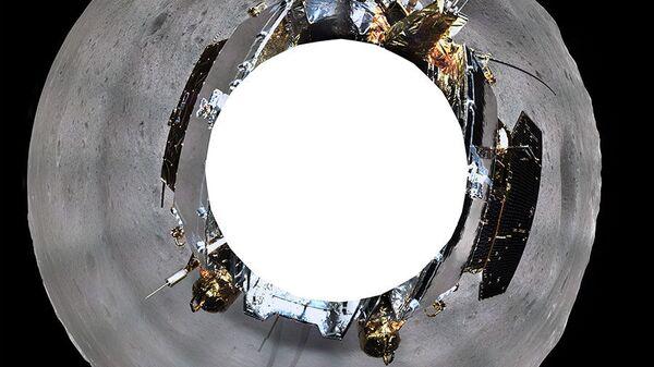 Изображение обратной стороны Луны, полученное с помощью китайского аппарата Чанъэ-4. 11 января 2019