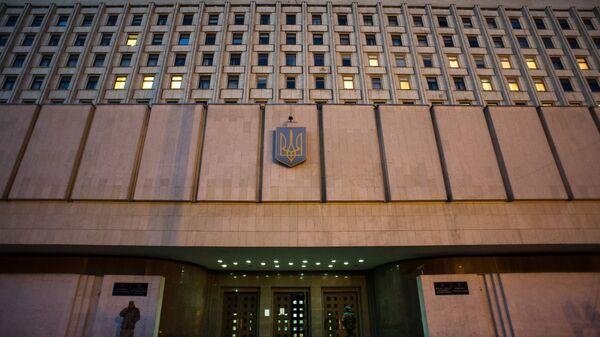 Центральная избирательная комиссия в Киеве. Архив