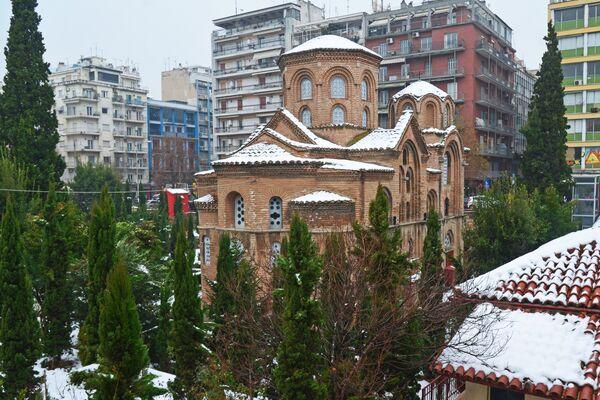 Церковь Панагия Халкеон в Салониках