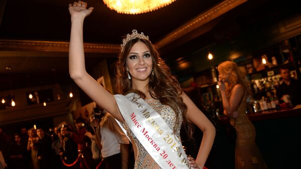 Мисс Москва — 2015 Оксана Воеводина